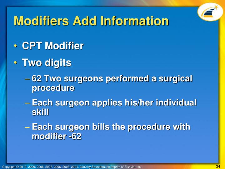 Modifiers Add Information