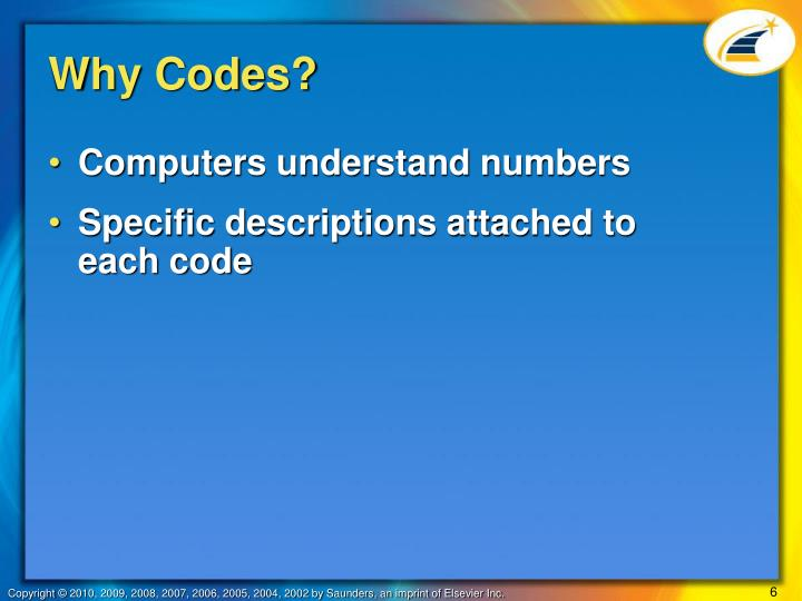 Why Codes?