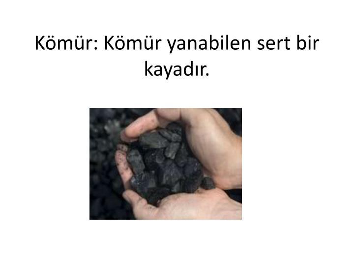 Kömür:
