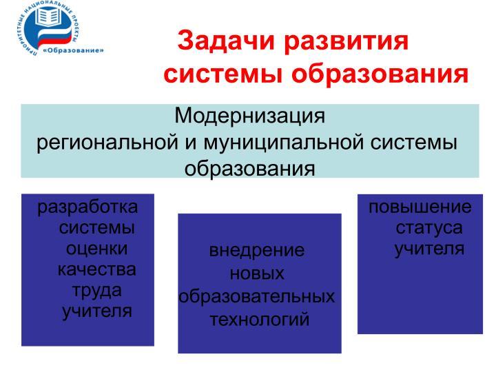 разработка системы оценки качества труда учителя
