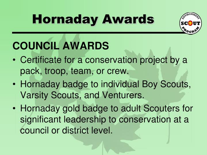 Hornaday Awards