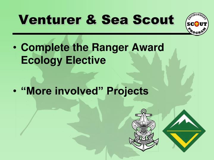 Venturer & Sea Scout