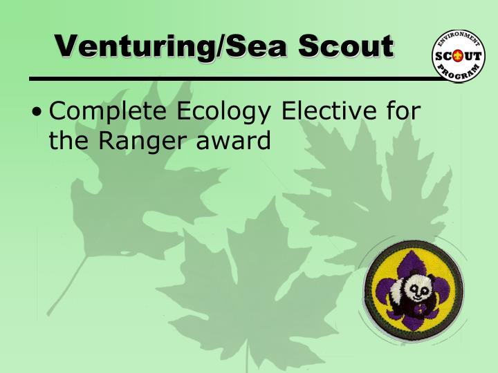 Venturing/Sea Scout