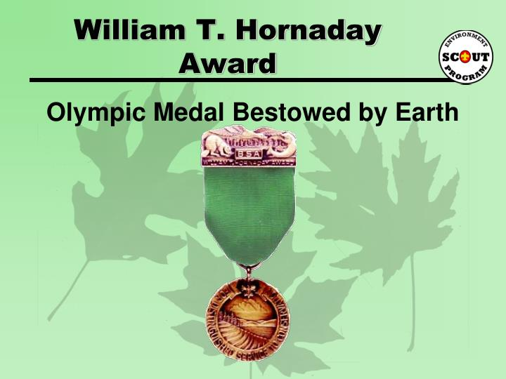 William T. Hornaday Award