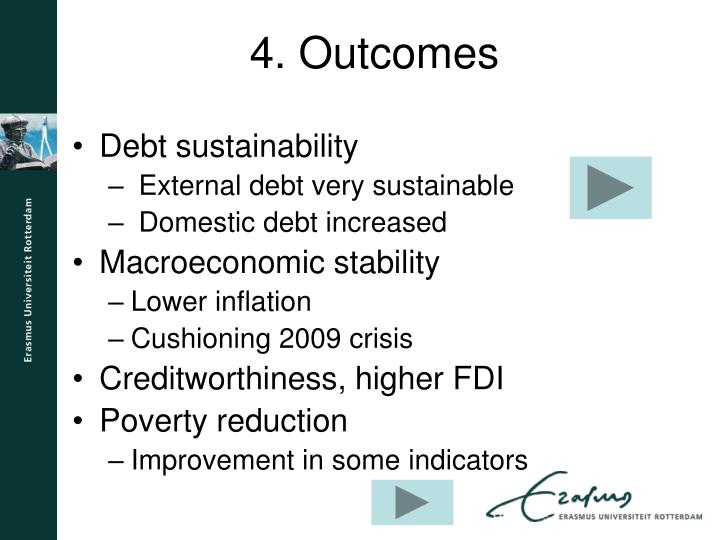 Debt sustainability
