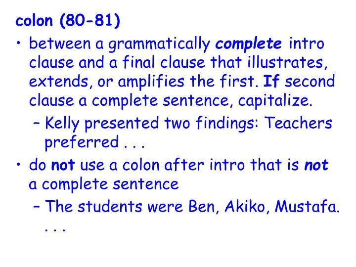 colon (80-81)