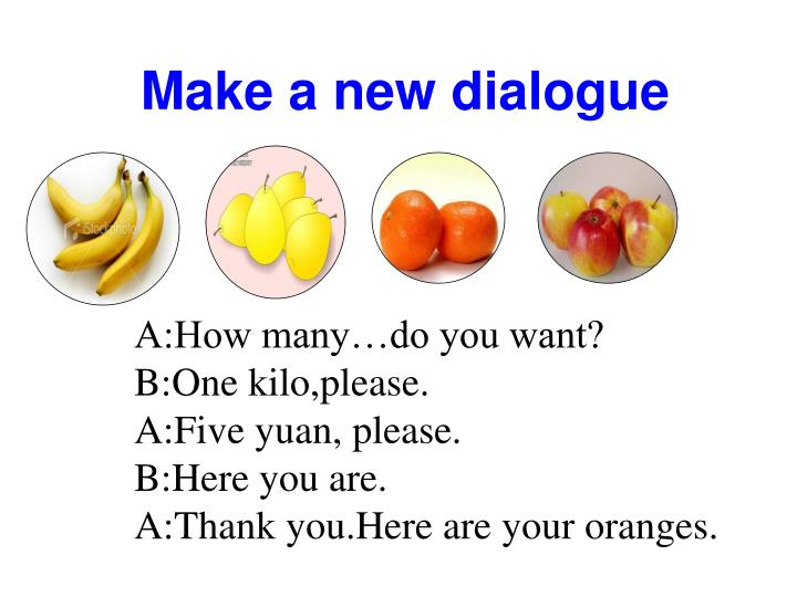 Make a new dialogue