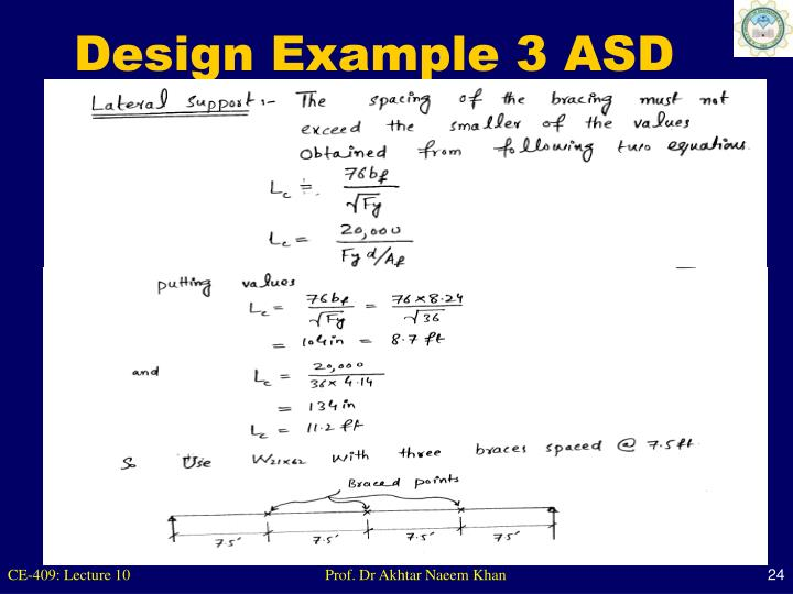 Design Example 3 ASD