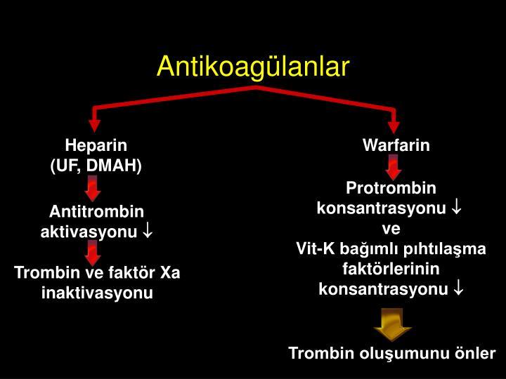 Antikoagülanlar