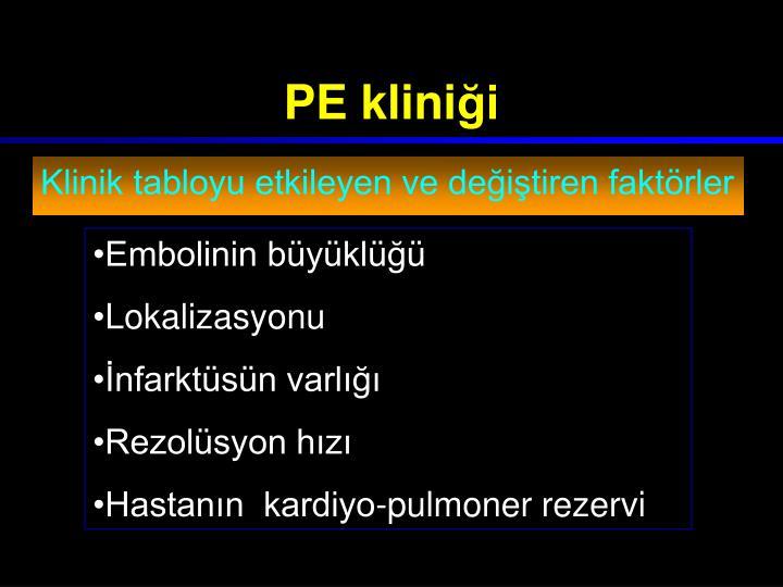 PE klini