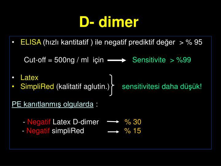 D- dimer