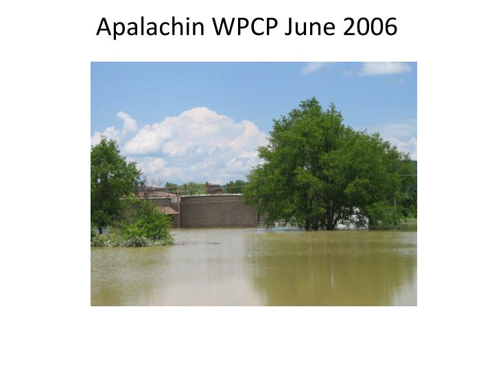 Apalachin WPCP June 2006