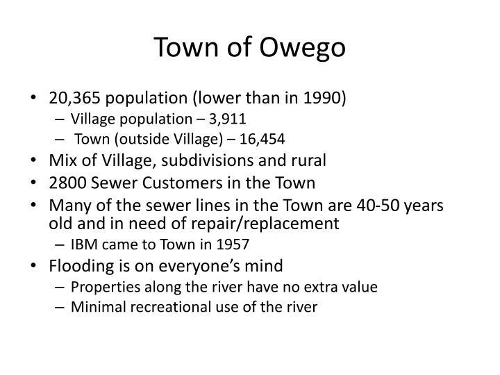 Town of Owego