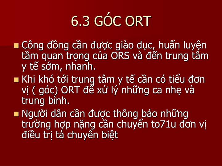6.3 GÓC ORT