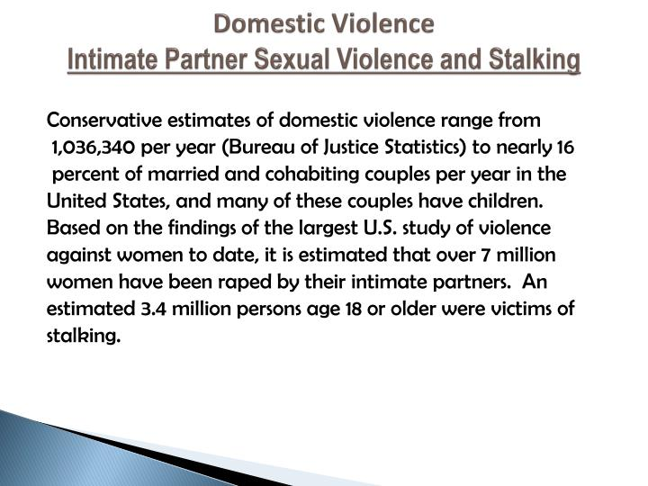 intimate partner abuse and relationship violence training