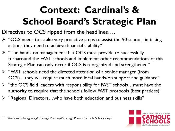 Context:  Cardinal's