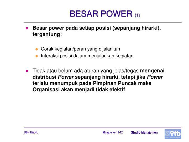 BESAR POWER