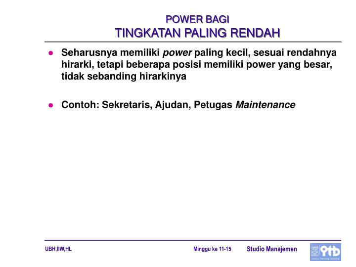 POWER BAGI