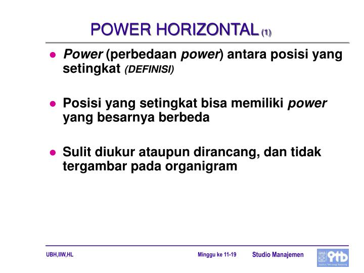 POWER HORIZONTAL