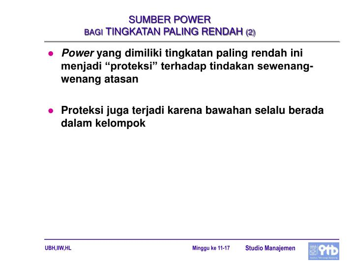 SUMBER POWER