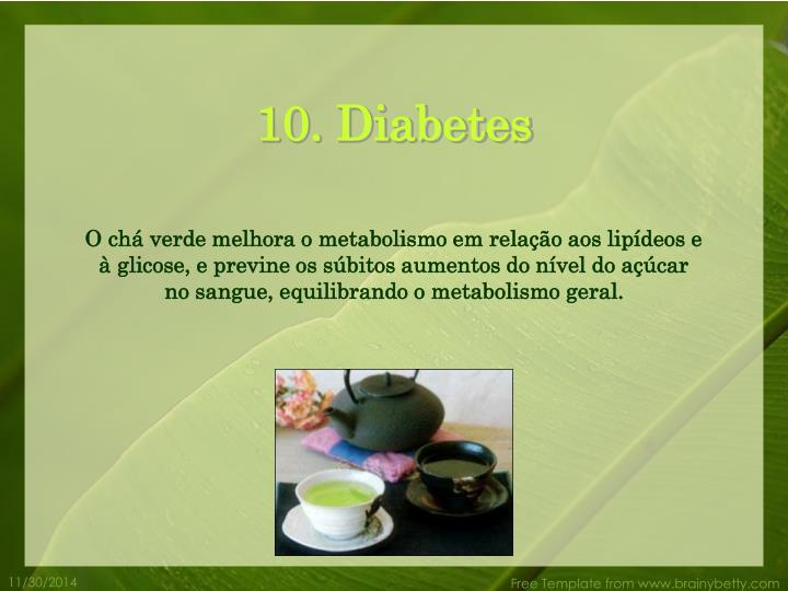 10. Diabetes