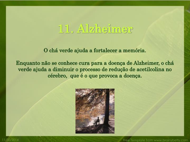 11. Alzheimer