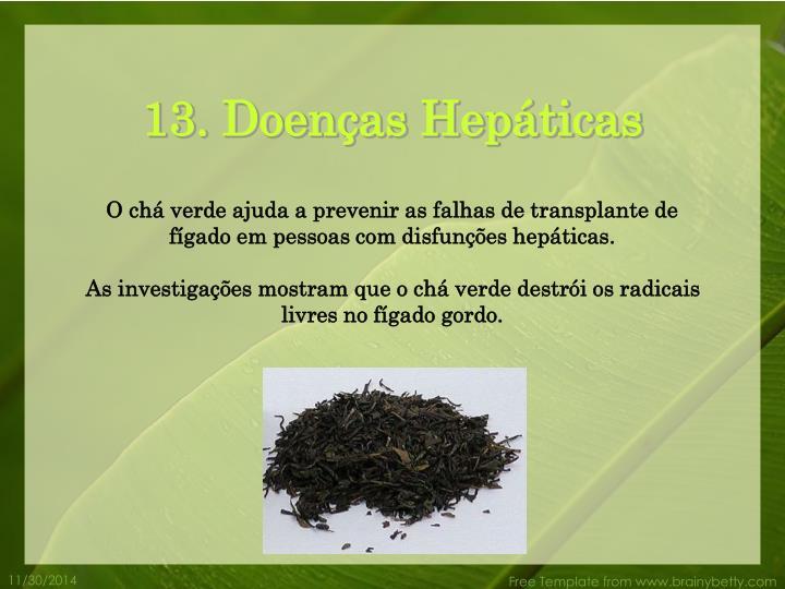 13. Doenças Hepáticas