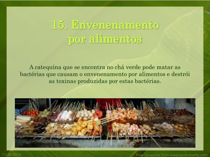 15. Envenenamento