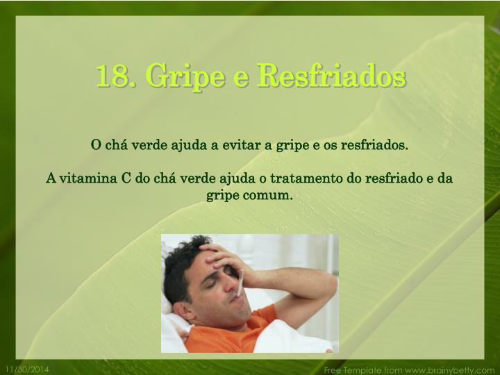 18. Gripe e Resfriados