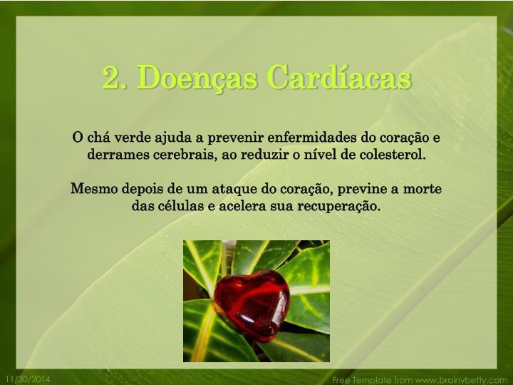 2. Doenças Cardíacas