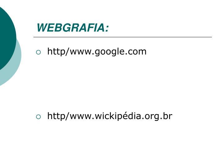 WEBGRAFIA: