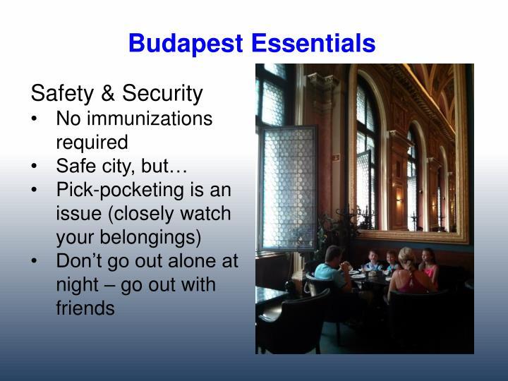 Budapest Essentials