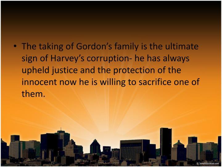 The taking of Gordon