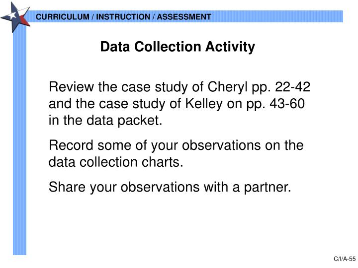 Data Collection Activity
