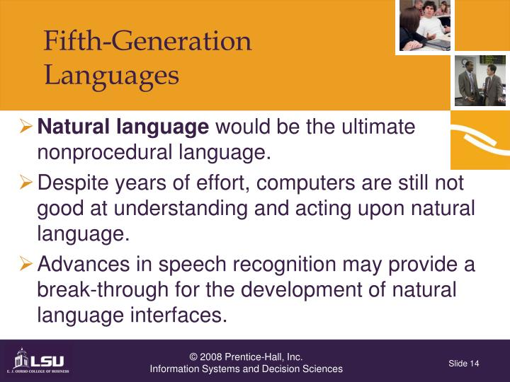 Fifth-Generation Languages
