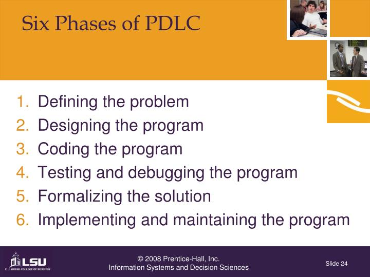 Six Phases of PDLC