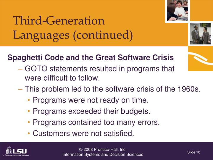 Spaghetti Code and the Great Software Crisis