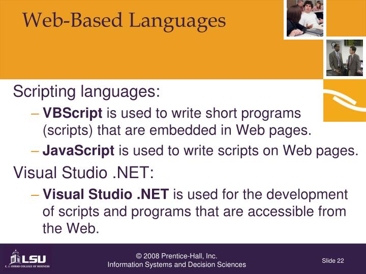 Web-Based Languages