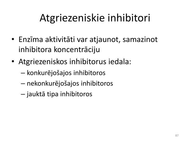 Atgriezeniskie inhibitori