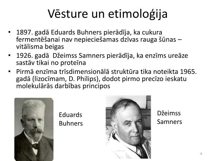 Vēsture un etimoloģija