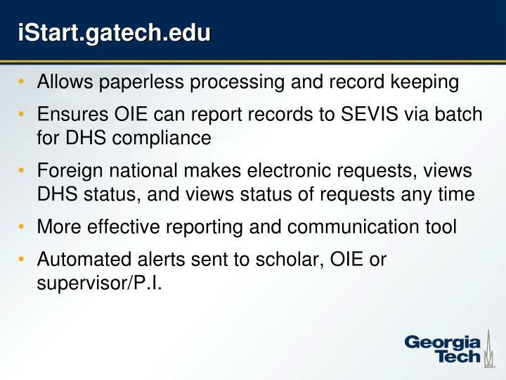 iStart.gatech.edu