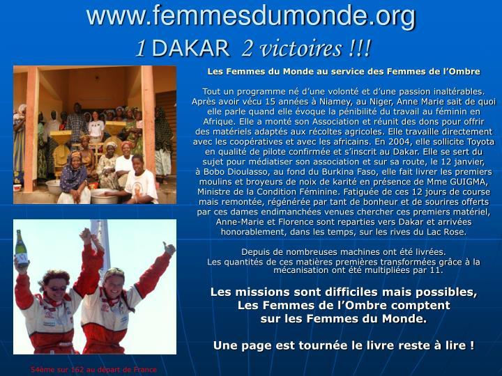 www.femmesdumonde.org