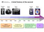 a brief history of the second1