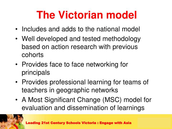The Victorian model