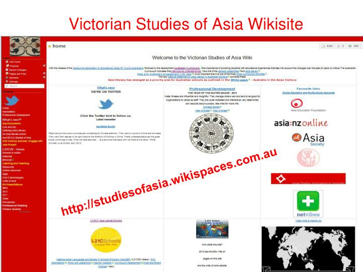 Victorian Studies of Asia Wikisite