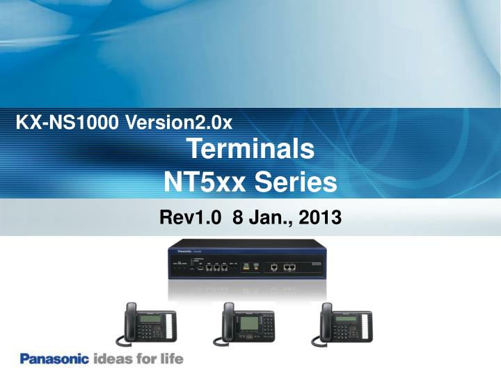 KX-NS1000 Version2.0x