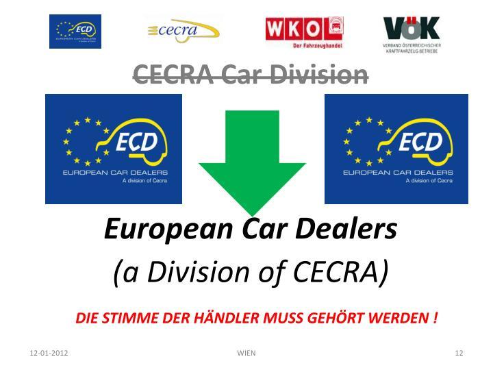 CECRA Car Division