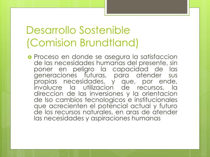 Desarrollo Sostenible (