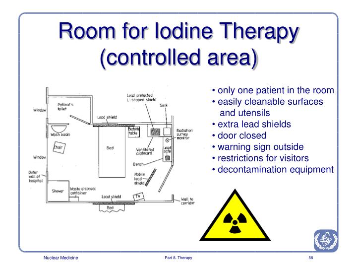 Room for Iodine Therapy