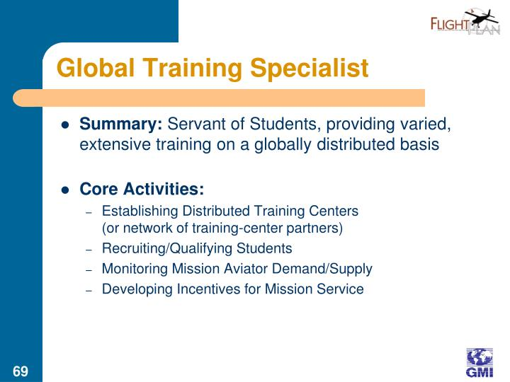 Global Training Specialist